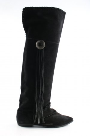 H&M Boots western noir style décontracté