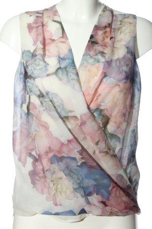 H&M Kopertowa bluzka Na całej powierzchni W stylu biznesowym