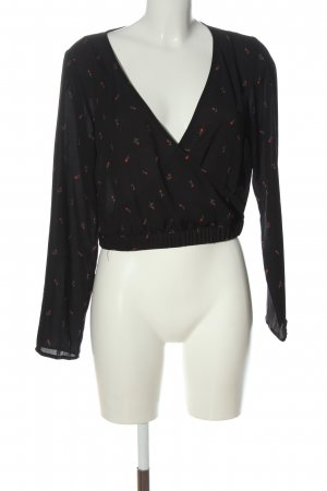 H&M Wickel-Bluse Allover-Druck Casual-Look
