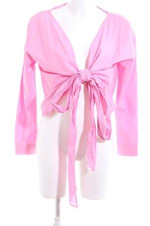 H&M Wickel-Bluse pink Elegant