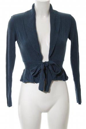 H&M Veste cache-coeur bleu élégant