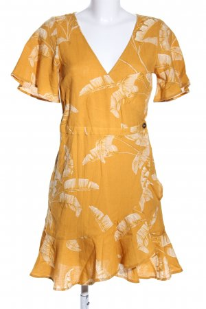 H&M Wraparound primrose-white flower pattern casual look