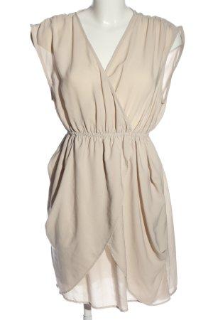 H&M Wickelkleid wollweiß Elegant