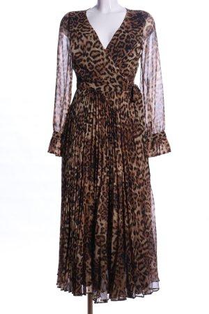 H&M Robe portefeuille motif animal élégant