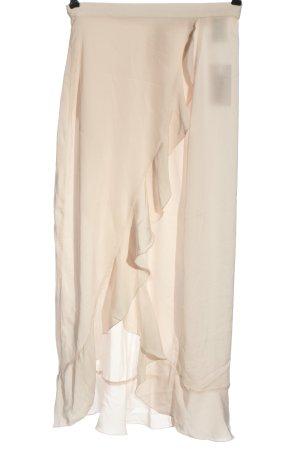 H&M Kopertowa spódnica w kolorze białej wełny W stylu casual