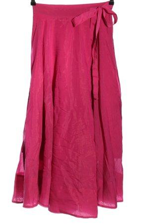 H&M Falda cruzada rosa elegante