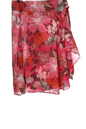 H&M Kopertowa spódnica różowy-czerwony Na całej powierzchni W stylu casual