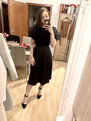H&M Jupe portefeuille noir