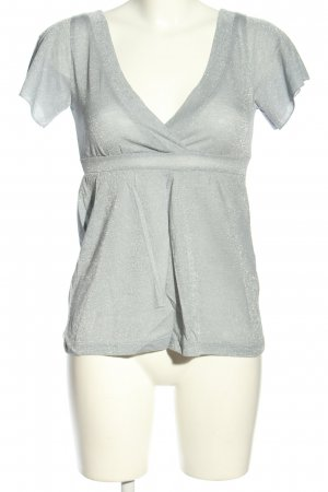 H&M Wraparound Shirt light grey casual look