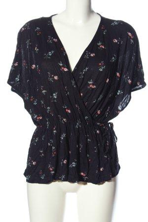 H&M Wraparound Shirt allover print casual look