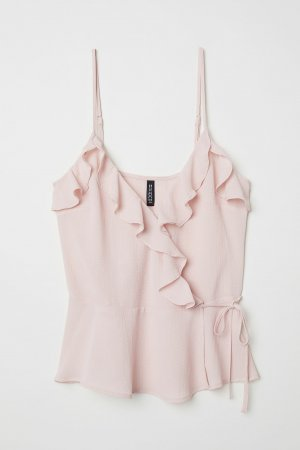 H&M Strappy Top pink