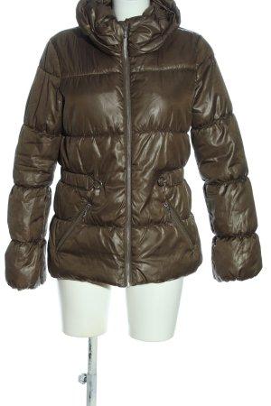 H&M Kurtka zimowa brązowy Pikowany wzór W stylu casual