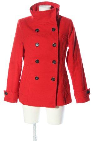 H&M Kurtka zimowa czerwony W stylu casual