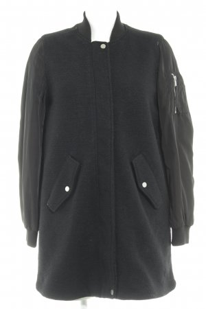 H&M Winterjacke schwarz Casual-Look
