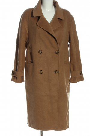 H&M Winter Coat brown business style