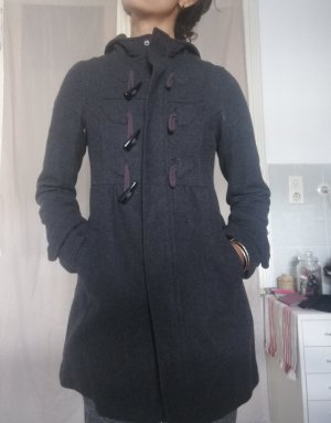 H&M Duffle-coat gris foncé-gris anthracite