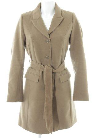 H&M Wintermantel beige Street-Fashion-Look
