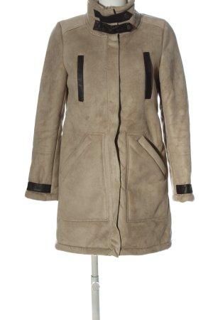 H&M Winterjas bruin casual uitstraling