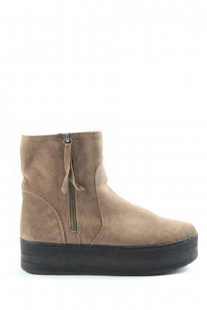 H&M Winterstiefel creme Casual-Look