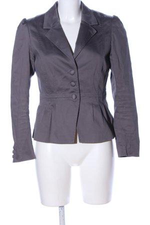H&M Woll-Blazer hellgrau Casual-Look