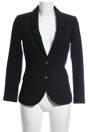 H&M Woll-Blazer schwarz Business-Look