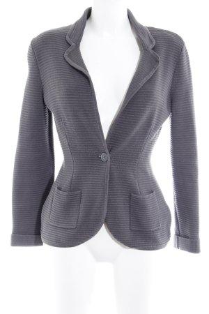 H&M Woll-Blazer grau Business-Look