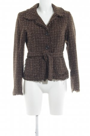 H&M Woll-Blazer Karomuster Casual-Look