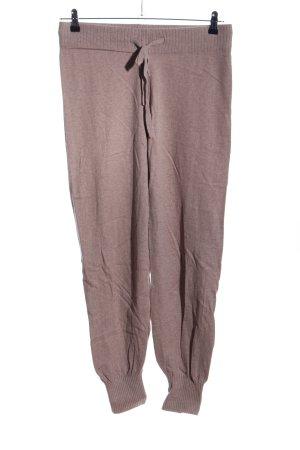 H&M Woolen Trousers brown flecked casual look
