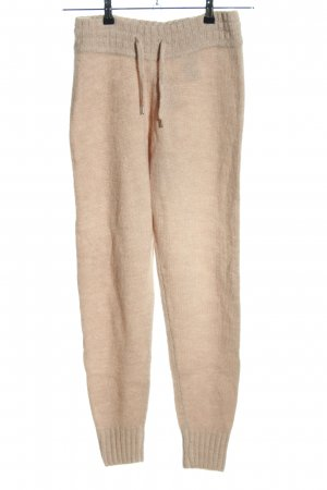 H&M Woolen Trousers cream casual look