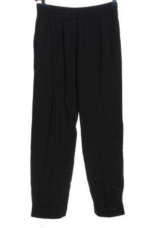 H&M Pantalón de lana negro look casual