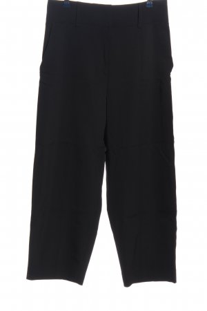 H&M Wollhose schwarz Casual-Look