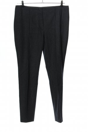 H&M Pantalon en laine noir-blanc imprimé allover style d'affaires