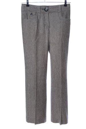 H&M Pantalon en laine gris clair moucheté style d'affaires