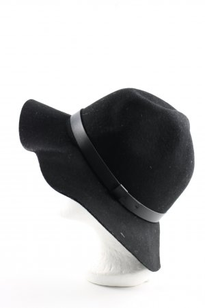 H&M Woolen Hat black casual look
