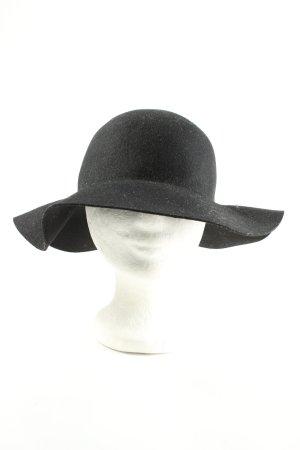 H&M Chapeau en laine noir style décontracté