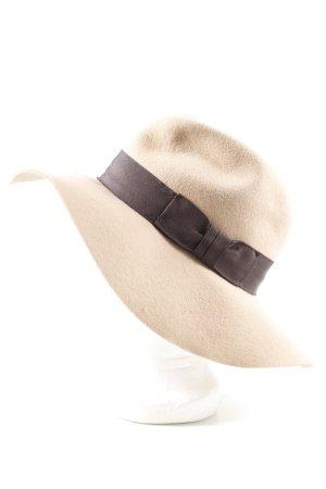 H&M Chapeau en laine rose chair-brun élégant