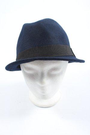 H&M Woolen Hat blue casual look