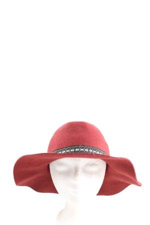 H&M Cappello di lana rosso motivo grafico elegante