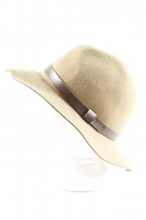 H&M Wollen hoed room-bruin elegant