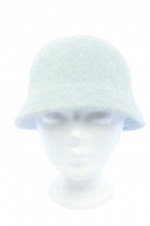 H&M Woolen Hat turquoise cable stitch casual look