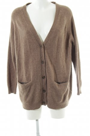 H&M Wolljacke braun Casual-Look
