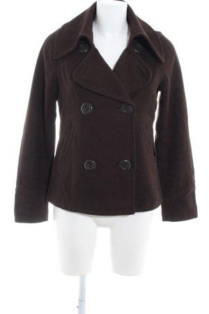 H&M Giacca di lana marrone scuro stile classico
