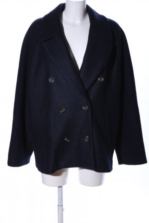 H&M Wolljacke schwarz meliert Business-Look