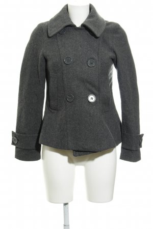 H&M Wolljacke grau Casual-Look