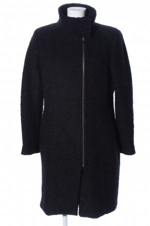 H&M Abrigo de lana negro look casual
