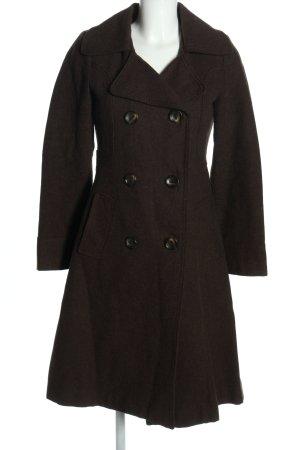 H&M Wollmantel schwarz Casual-Look