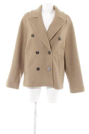 H&M Manteau en laine beige style décontracté