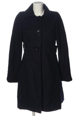 H&M Abrigo de lana azul look casual