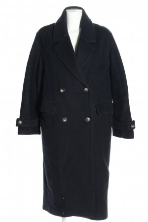 H&M Wollmantel blau Casual-Look