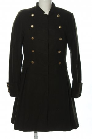 H&M Wool Coat khaki business style